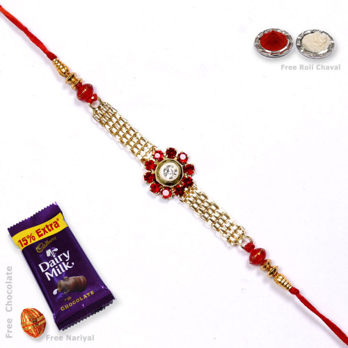 Beautiful Floral Brother Rakhi